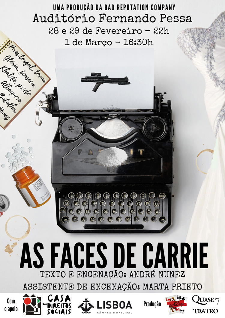 Vamos ao Teatro - As Faces de Carrie