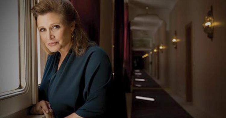 Em 27 de Dezembro de 2016, faleceu a atriz Carrie Fisher.