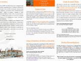 Folheto 2021 (2º Semestre) Atividades ADEB, Região Centro