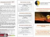 Folheto 2017 (1º Semestre) Atividades ADEB, Delegação Centro