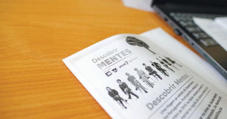 """Debate """"Descobrir Mentes"""", uma parceria TSF/JN com a ADEB e a Janssen, companhia farmacêutica do grupo Johnson & Johnson."""