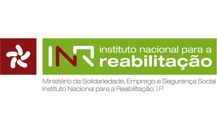 Logótipo Instituto Nacional para a Reabilitação