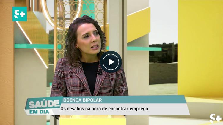 Dr.ª Carmen Gonçalves, assistente social da ADEB, sobre trabalho desenvolvido na ADEB ao nível da Empregabilidade na doença bipolar e unipolar
