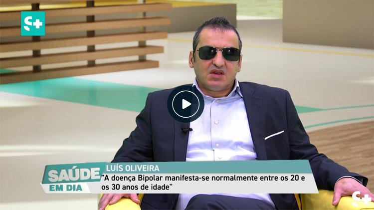 Dr. Luís Oliveira, Neuropsicólogo da ADEB, sobre a doença bipolar no canal Saúde +, programa Saúde em dia.